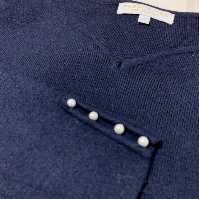 PROPORTION BODY DRESSING(プロポーションボディドレッシング)のプロポーションボディドレッシング レディースのトップス(ニット/セーター)の商品写真