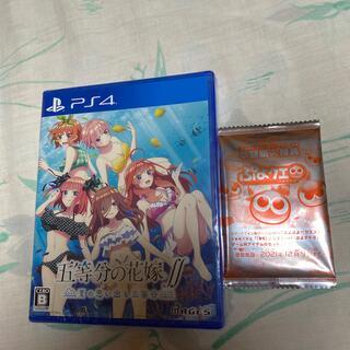 プレイステーション4(PlayStation4)の五等分の花嫁∬ ~夏の思い出も五等分~ PS4新品未開封(家庭用ゲームソフト)
