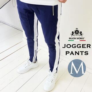 パンツ メンズ スウェットパンツ  ジョガーパンツ  おしゃれ ズボン M(その他)
