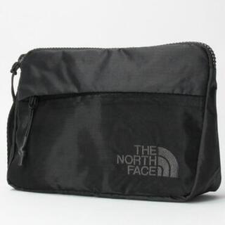 THE NORTH FACE - 【未開封新品】ノースフェイス 収納ポーチ スマホ入れ 小型 軽量性 耐久性 黒色