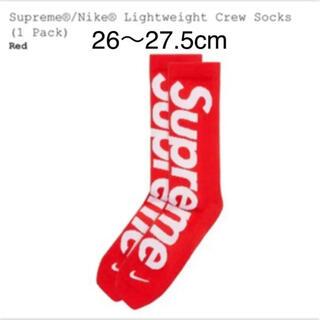 シュプリーム(Supreme)のシュプリーム ソックス Nike Lightweight Crew Socks(ソックス)