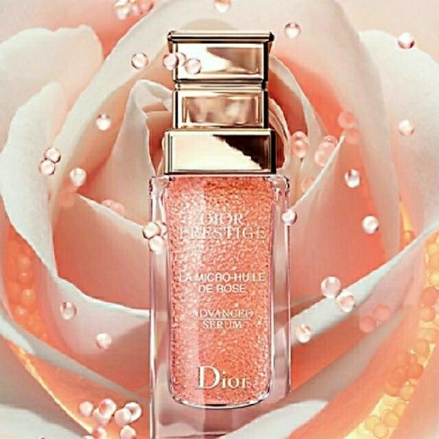 Christian Dior(クリスチャンディオール)のプレステージ マイクロ ユイルドローズ セラム 美容液 30ml コスメ/美容のスキンケア/基礎化粧品(美容液)の商品写真