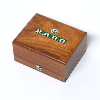 【ラドー/RADO】時計用ケース 木製 1976年アンティーク