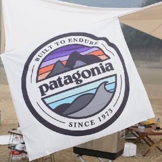 patagonia - 壁掛けタペストリー ビッグフラッグ Patagonia since 1973