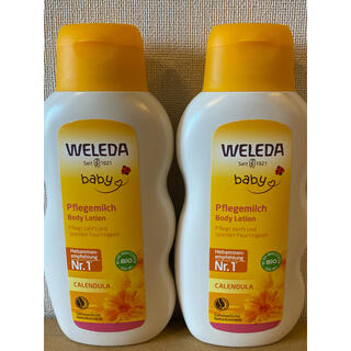ヴェレダ(WELEDA)のヴェレダ カレンドラ ベビーミルクローション  200ml(ベビーローション)