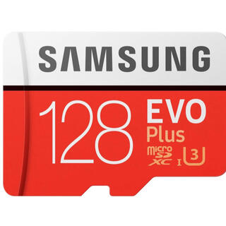 SAMSUNG - マイクロSDカード microsd 128 サムスン 128GB SAMSUNG