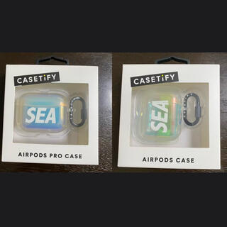 wind and sea × casetify AirPods Pro case(その他)