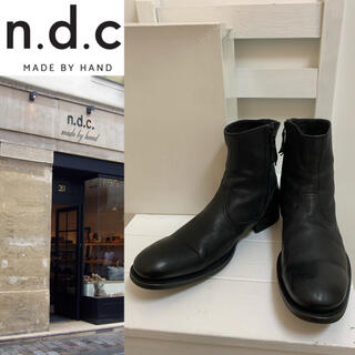 エヌディーシー(n.d.c. nom de code)のn.d.c. MADE BY HAND EU製 CHRISTOPHER ブーツ(ブーツ)