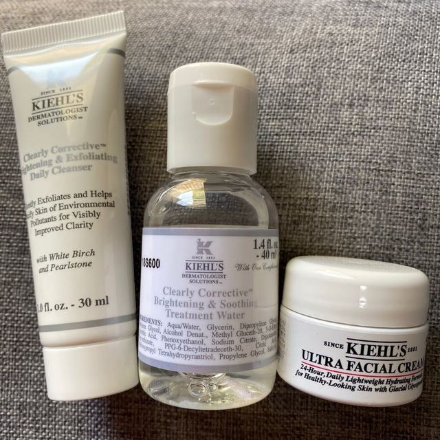 Kiehl's(キールズ)のKIEHL'S 美白 ミニボトルセット コスメ/美容のキット/セット(サンプル/トライアルキット)の商品写真