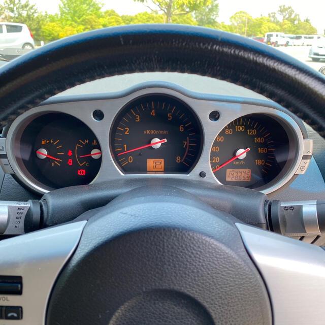 日産(ニッサン)のフェアレディZ33 AT バージョンT ガンメタリック 自動車/バイクの自動車(車体)の商品写真