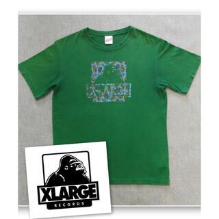 XLARGE - 【レア】XLARGE エクストララージ ペイズリー柄 ロゴTシャツ