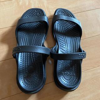 crocs - 【クロックス】 クレオ サンダル 24センチ