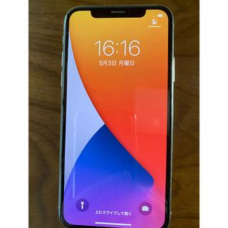 iPhone - 【美品】iPhoneX 64GB シルバー SIMロック解除済み
