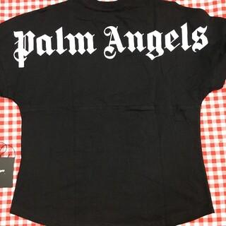 パーム(PALM)の【新品】 Palm Angels ロゴオーバーサイズ Tシャツ(Tシャツ/カットソー(半袖/袖なし))