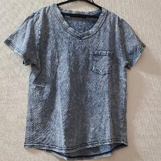 ザラ(ZARA)の値下げ再出品★デニム風Tシャツ(Tシャツ(半袖/袖なし))