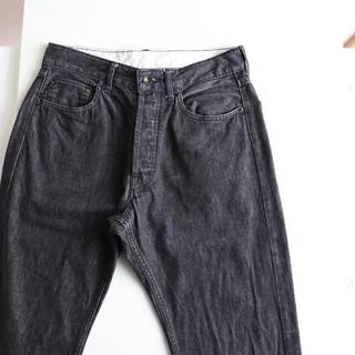 エンジニアードガーメンツ(Engineered Garments)のエンジニアードガーメンツ ブラックデニム 30(デニム/ジーンズ)