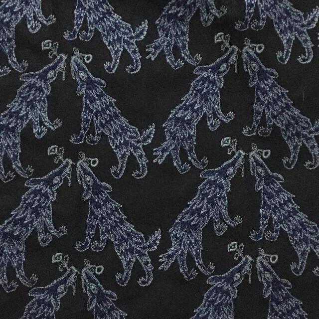 mina perhonen(ミナペルホネン)のミナペルホネン wolf&flower ワンピース 36 レディースのワンピース(ひざ丈ワンピース)の商品写真
