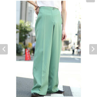 SUNSEA - VINTAGE ARCHIVE / FLARE TROUSERS / green