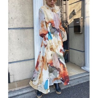Ameri VINTAGE - 【新品】 アメリヴィンテージ アメリアインクアートドレス