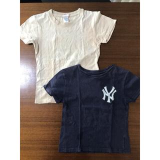 ナイキ(NIKE)の2枚セット NY ニューヨークヤンキース公式 田中将大 Tシャツ 19番(Tシャツ/カットソー)