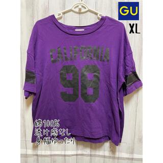 GU - 《GU》プリントTシャツ