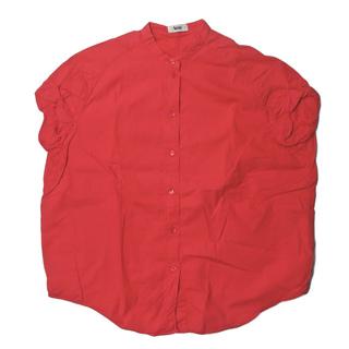 アクネ(ACNE)のACNE アクネ SCALLOP SS11 バンドカラーショートスリーブシャツ(シャツ/ブラウス(半袖/袖なし))