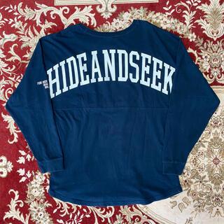 ハイドアンドシーク(HIDE AND SEEK)のHIDE AND SEEK Drop Shoulder L/S Tee(Tシャツ/カットソー(七分/長袖))