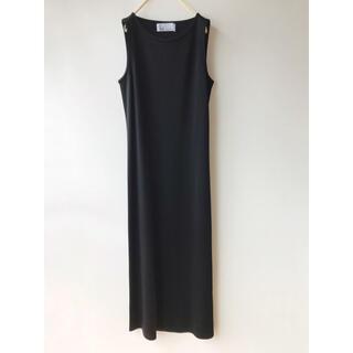 UNITED ARROWS - URU ayakoShimato 黒 ロングワンピース ドレス