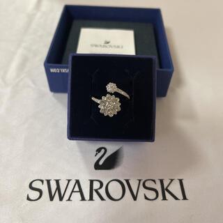 スワロフスキー(SWAROVSKI)のスワロフスキー リング 指輪 美品 正規品(リング(指輪))