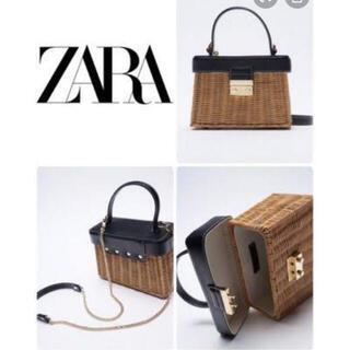 ZARA - ZARA カゴバック