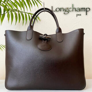 LONGCHAMP - 新品未使用 Longchamp ロンシャン ロゾ 6.2万 レザートートバッグ