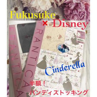 Disney - FUKUSUKE × Disney パンスト パンティストッキング シンデレラ