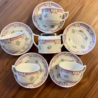 ローラアシュレイ(LAURA ASHLEY)のローラアシュレイ アリスカップ&ソーサーセット(食器)