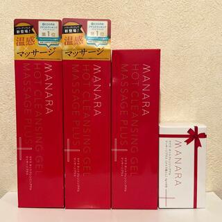 maNara - マナラ ホットクレンジングゲル  マッサージプラス200g   3本
