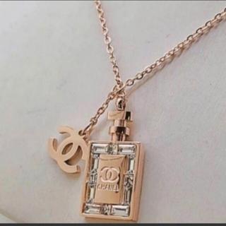 CHANEL - CHANEL香水瓶 ネックレス
