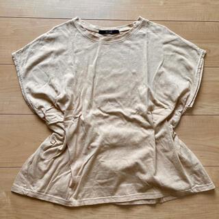 しまむら - Tシャツ しまむら ベージュ リボン