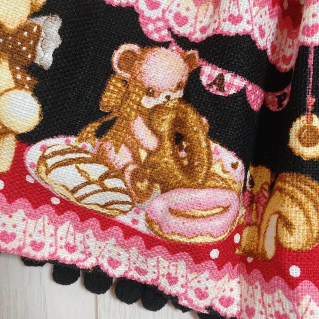 Angelic Pretty(アンジェリックプリティー)のAngelic Pretty Little Bears Cafe jsk セット レディースのワンピース(ひざ丈ワンピース)の商品写真