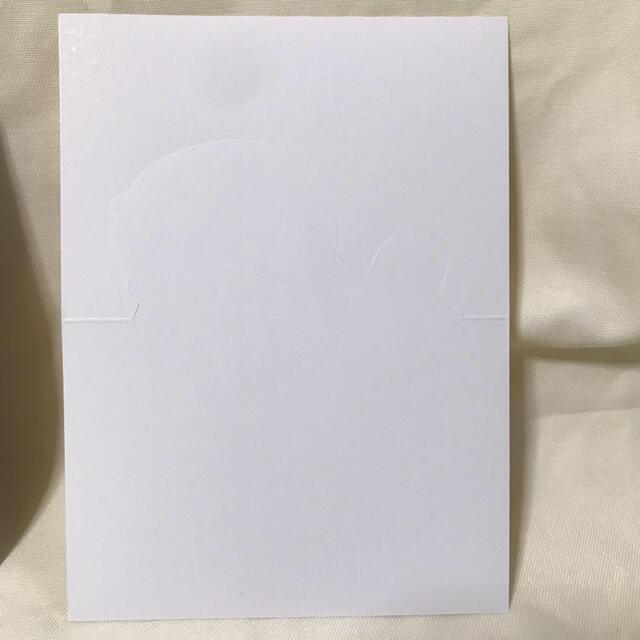防弾少年団(BTS)(ボウダンショウネンダン)のBTS 韓国 ポップアップ ストア 限定 ホリデー カード ジョングク 未使用 エンタメ/ホビーのタレントグッズ(アイドルグッズ)の商品写真