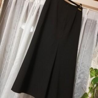ヒロココシノ(HIROKO KOSHINO)の美品 コシノヒロコ 大人綺麗 ロング フレアーマーメイド スカート(ロングスカート)
