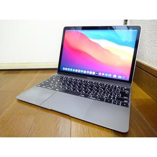 Mac (Apple) - Apple MacBook 12 2016 スペースグレイ 512GB m5