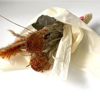 ドライフラワー ドリアンドラ テールリード ワイルドフラワー 花束 ハンドメイド(ドライフラワー)