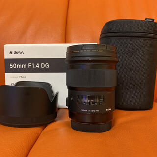 SIGMA - SIGMA 50mm F1.4 DG HSM Art / Canon