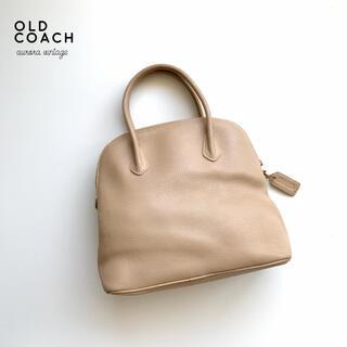 COACH - 【美品】OLD COACH/オールドコーチ イタリア製 希少カフェオレカラー