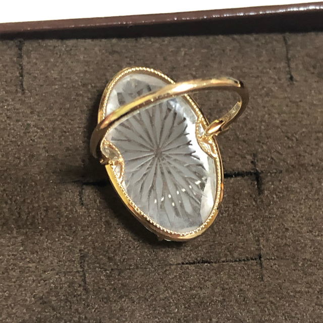 agete(アガット)の【美品】アガット リング K10 agete レディースのアクセサリー(リング(指輪))の商品写真