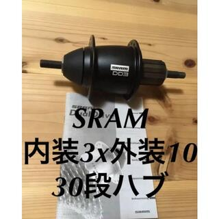 シマノ(SHIMANO)のSRAM DualDriveスラムデュアルドライブIII内外装ハブアルフィーネ(パーツ)