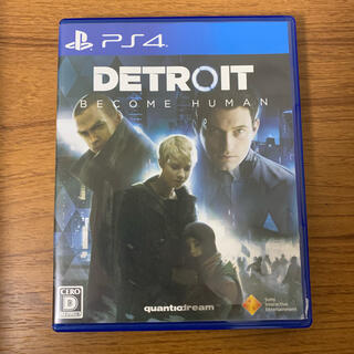 Detroit: Become Human PS4 デトロイト