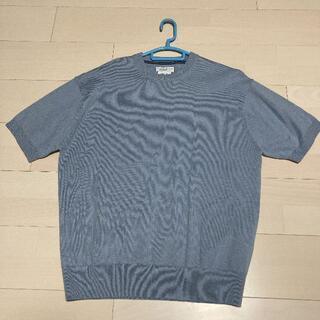 チャオパニックティピー(CIAOPANIC TYPY)のCIAOPANIC TYPY サマーニット 半袖ニット 青 ブルー サイズM(Tシャツ/カットソー(半袖/袖なし))