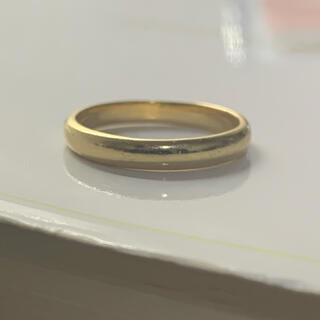 K18 リング 指輪 甲丸 13号(リング(指輪))