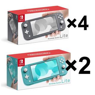 新品 任天堂 Switch light 6台 送料込
