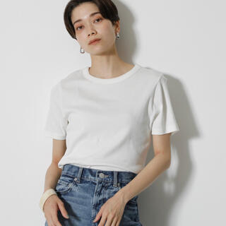 TOMORROWLAND - 【今季・新品】COTTON USAフィット 白Tシャツ